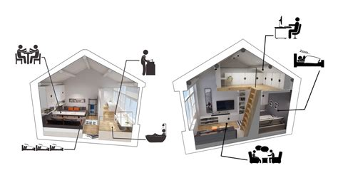 small loft small homes that use lofts to gain more floor space