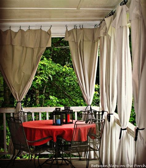 outdoor deck curtains 23 wonderful outdoor curtains ideas