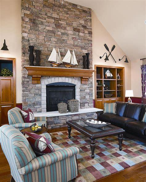 stone wall fireplace home interior stone center of va www stonecenterofva com