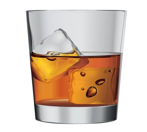whiskey glass svg illustrator tutorial how to create whiskey on the rocks
