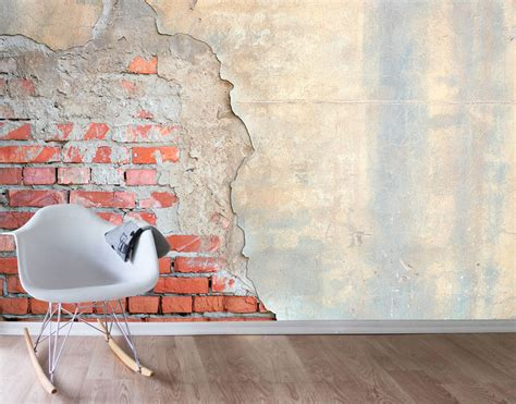 brick wall stickers faded your decal shop nz designer wall decals