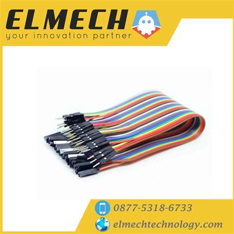 Jual Kabel Jumper Breadboard Arduino Wire Sensor Cable 20 cm 40 jumper cable kabel breadboard