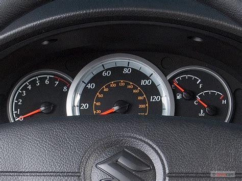 electric power steering 2006 suzuki swift instrument cluster image 2007 suzuki forenza 4 door sedan auto instrument
