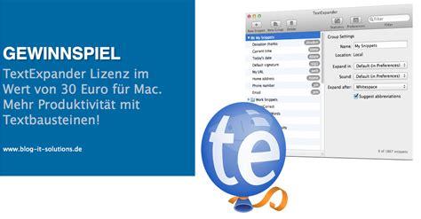 Wohnungsinserat Schreiben Muster Mac Os Textbaustein Programme F 252 R Mehr Produktivit 228 T 187 It Solutions