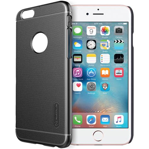 Nillkin Frosted Iphone 6 Plus Emas nillkin frosted shield apple iphone 6s plus black