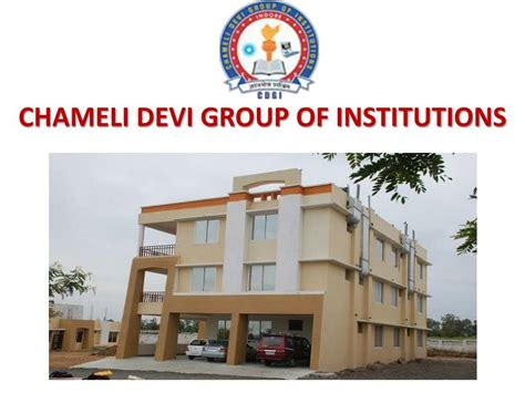 Chameli Devi College Indore Mba by Ppt Best Placement Engineering Colleges In Mp Chameli