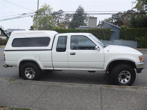 Toyota Tacoma Canopy 1993 Toyota Tacoma 4x4 V6 3l Canopy Included Oak Bay