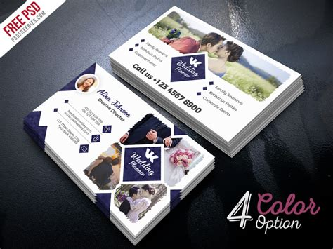 planner business cards templates event planner business card psd psdfreebies