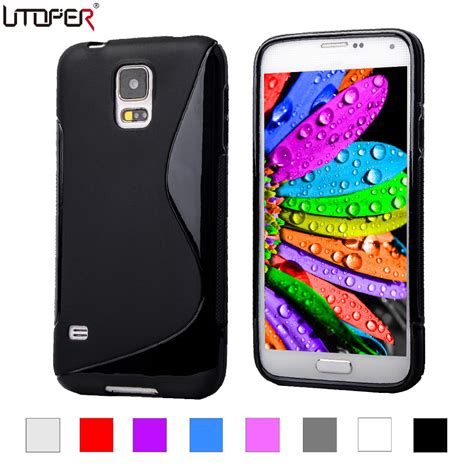 Samsung Galaxy S7 Soft Cover Casing Slim Line Murah soft plastic for samsung galaxy s5 mini s line gel tpu slim for galaxy g800 4 5