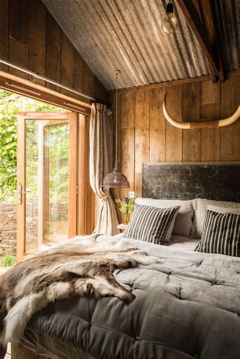 romantic rustic bedrooms rustic and romantic firefly cabin has the time worn