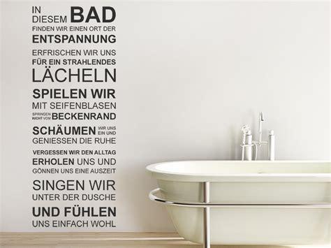 badezimmer wandgestaltung wandtattoo in diesem bad finden wir entspannung bei