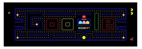 pacman arcade doodle which was the best homepage image top 10 countdown