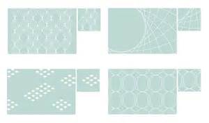 glass photo placemats