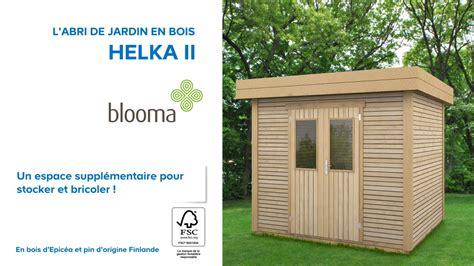 abri de jardin en bois helka ii blooma 676230 castorama