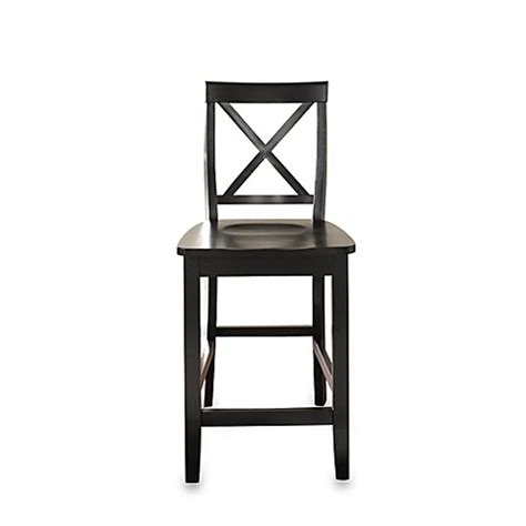 10615 Asma Black Set 2 In 1 buy crosley x back 24 inch barstool in black set of 2