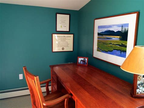 home office wall colors best color to paint an office home design ideas and pictures