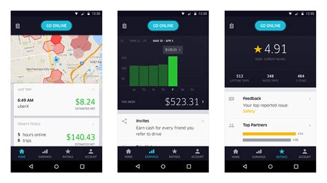 uber partner app for android new uber partners app start money today