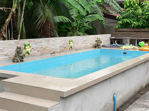 Backyard Swimming Pools Above Ground Small Above Ground Swimming Pools Backyard Design Ideas