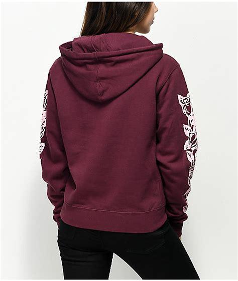 Sweater Hoodies As Roma Maroon obey olde maroon hoodie zumiez