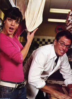 pauley perrette glasses young michael weatherly tony ncis beautiful things