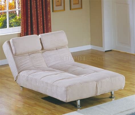 Sofa Bed Lounger Peat Microfiber Contemporary Sofa Bed Convertible Lounger