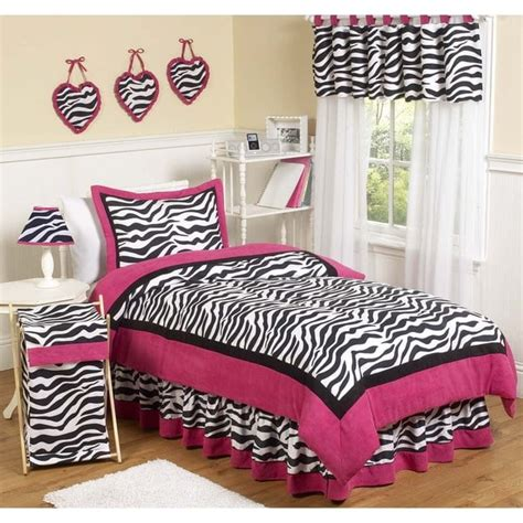 pink zebra queen comforter set sweet jojo designs pink black white zebra print 3 piece