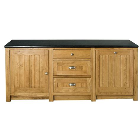 kitchen appliance cabinets orchard oak 3 drawer appliance cabinet 2130x665x900mm