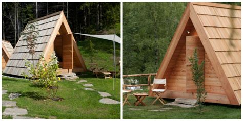Wooden Tent by Wooden Tent