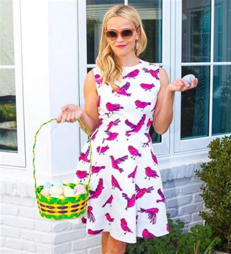 Reese Witherspoon Goes For An Egghunt by From Beckham S Limber Look To Drew Barrymore S