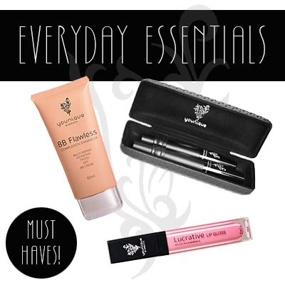 Lipgloss Bb what are your everyday essentials mine are my bb 3d lashes and lucrative lip gloss www