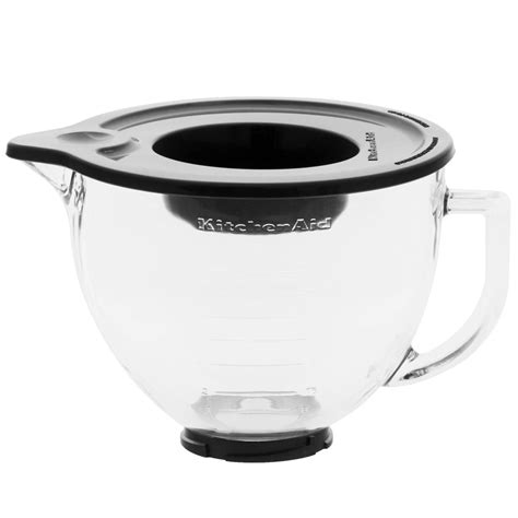 Kitchen Aid Mixer Bowl by Kitchenaid 4 8 Litre Glass Bowl For Kitchenaid Mixer Ebay