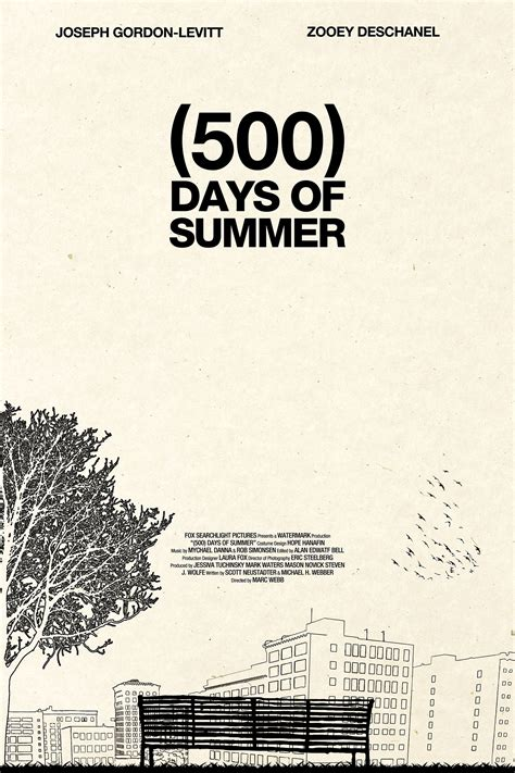 what are the days of summer 500 days of summer poster