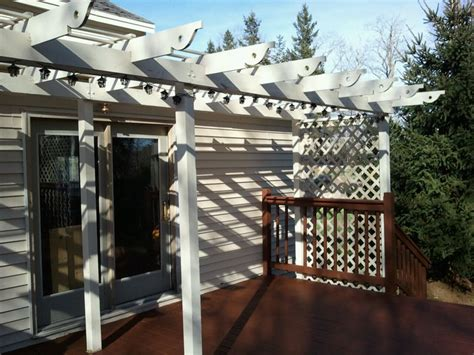 7 Easy To Make Diy Outdoor Pergolas Shelterness Easy Diy Pergola