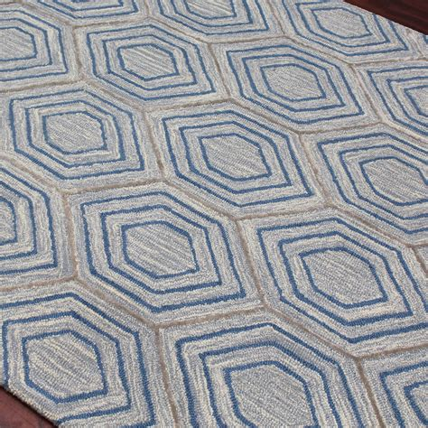 dwell rug dwell area rug sky blue 2 l x 3 w amer rugs touch of modern