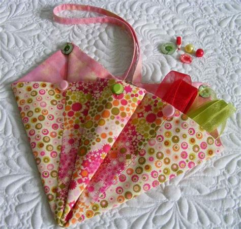 Fabric Origami Bag - 79 best crafts w fabric felt images on