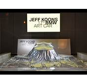 2010 BMW M3 GT2 Art Car By Jeff Koons  World Premiere At