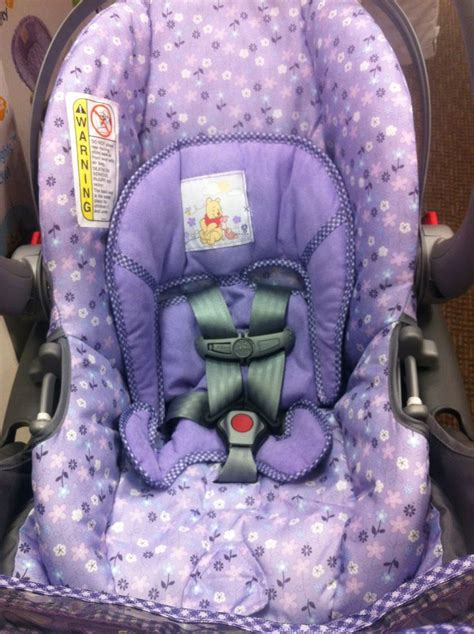 purple winnie the pooh car seat and stroller 14 best images about strollers on babies r us