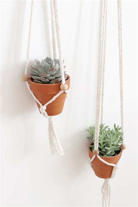 Macrame Plant Hangers Diy - 32 creative diy succulent crafts and diys for you to