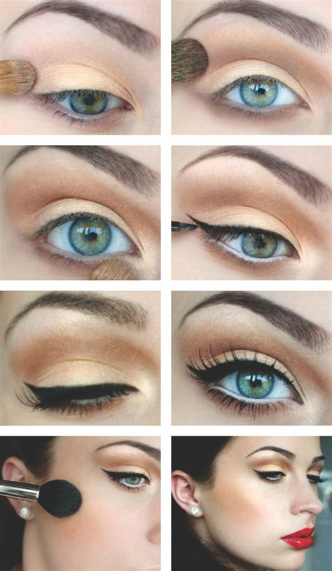 Hdtv Applied To Make Up by How To Apply Eyeliner Classic Eyeliner Makeup Tips