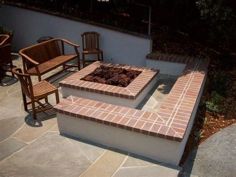 backyard brick fire pit inspiration for backyard fire pit designs decor around