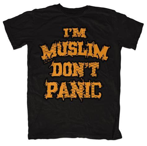 Sweater Im Muslim Dont Panic Fightmerch i m muslim don t panic black i m muslim don t panic i m