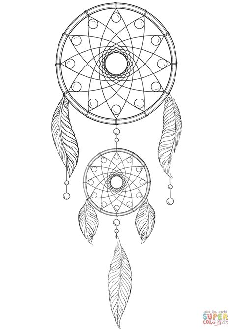 free coloring pages dream catcher dream catcher coloring page free printable coloring pages