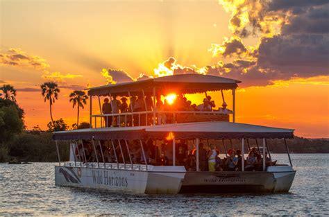 boat cruise zambezi river victoria falls facts sunset river boat cruises above the