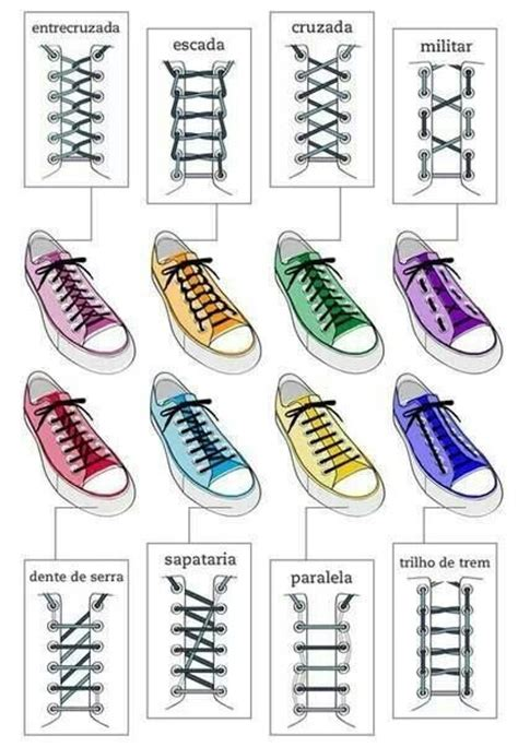 different ways to tie shoes different ways to lace shoes crafty stuff