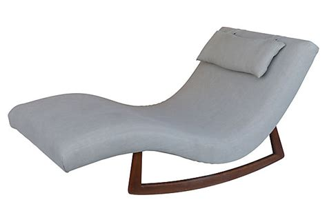 double wide chaise adrian pearsall double wide rocking chaise modernism