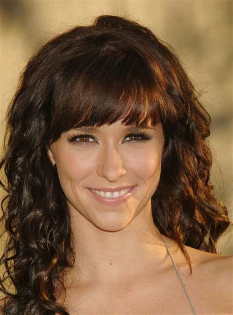 Jennifer Love Hewitt Hairstyles Long Curly Hair | 30 hairstyles for curly hair with bangs long hairstyles