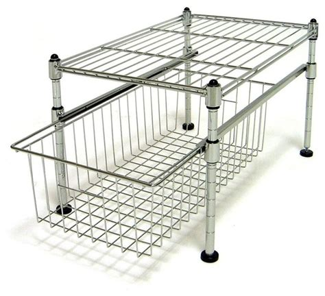 seville classics single basket organizer ultrazinc