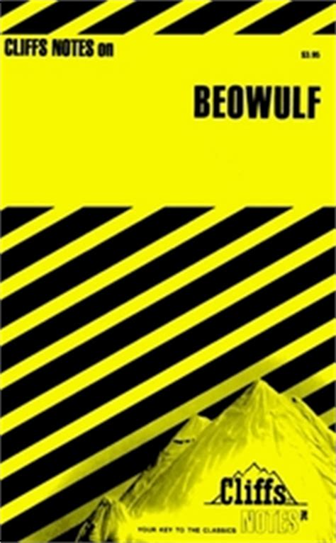 themes beowulf sparknotes cliffs notes beowulf cliff notes editors elaine strong