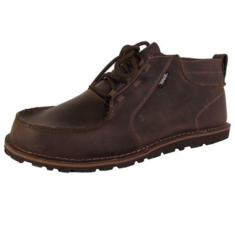teva boots mens teva mens mush atoll chukka lace up boot shoes ebay