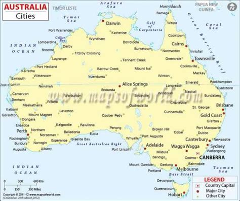 map of australia with capital cities australia map holidaymapq